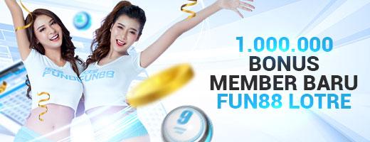 bonus member baru lotre
